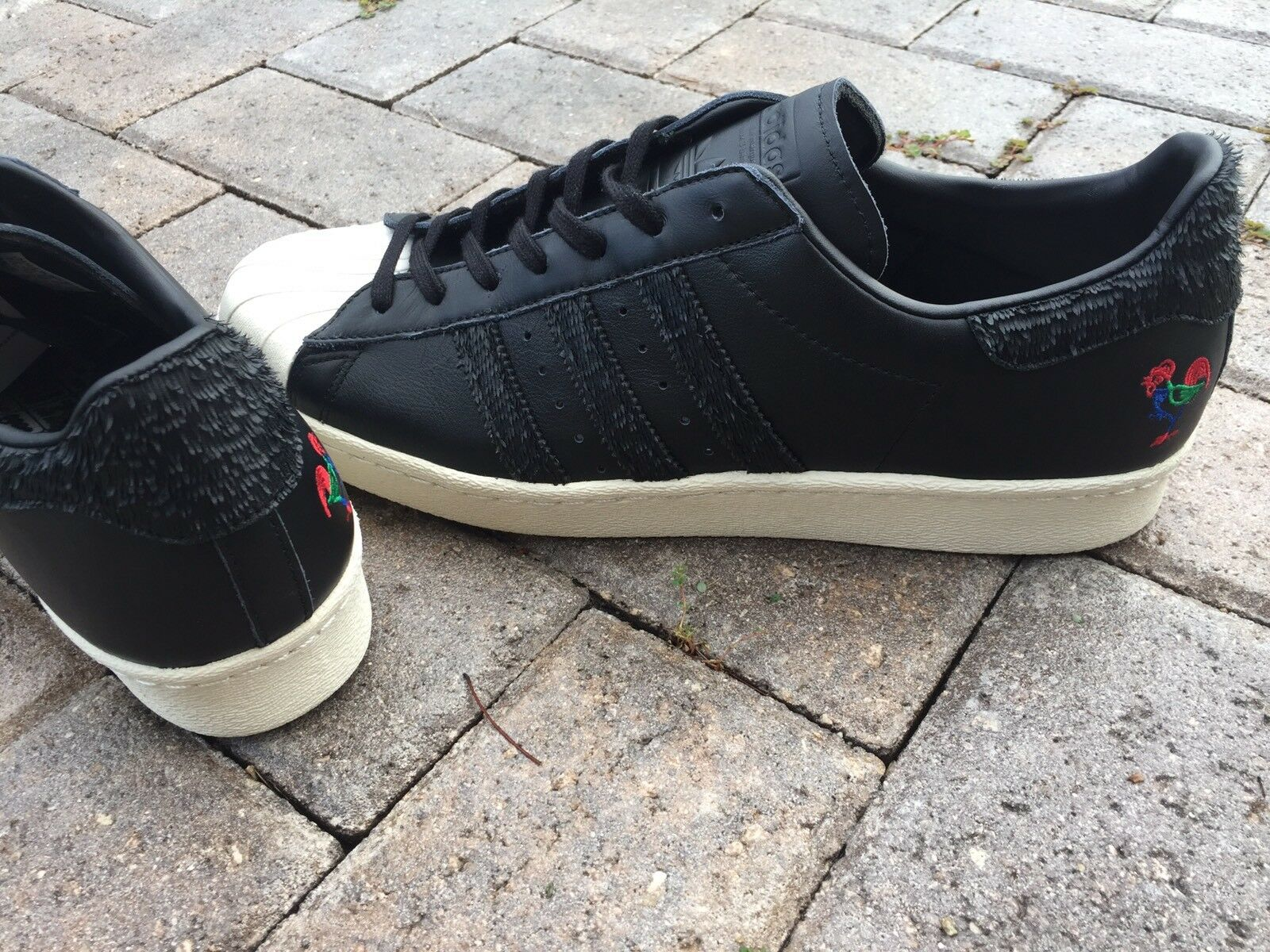 ADIDAS SUPERSTAR 80s Chinese NEW Year US size 13