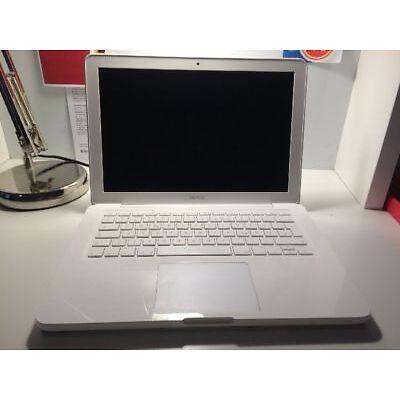 Apple MacBook 6,1 A1342 13,3 Zoll 2,26 GHz 2GB RAM 250GB HDD weiß late 2009