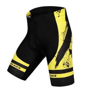 Shorts-Cuissard-De-Velo-Cyclisme-Rembourre-Coussin-3D-Gel-Respirant