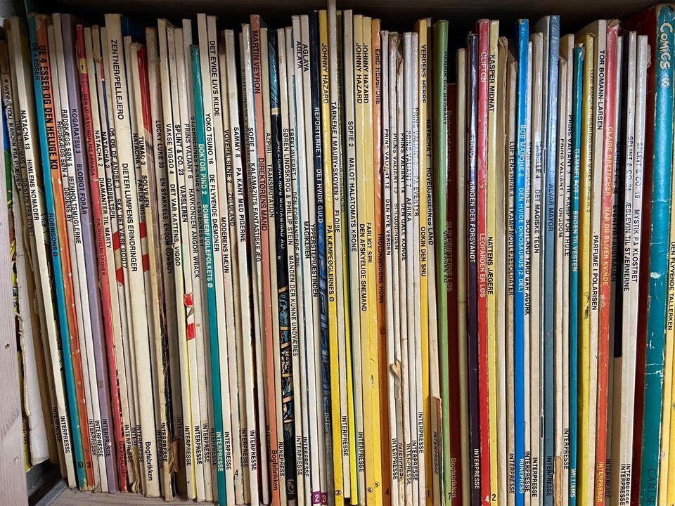 Tegneserier, 350 tegneserier