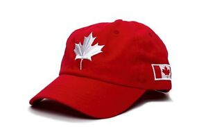 Embroidered Canada Dad Hat Canadian Maple Leaf Cap Flag Unisex Adult ... 3a3894a5fc38