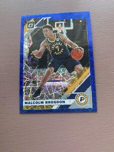 2019/20 Panini Donruss Optic Basketball: Malcolm Brogdon Blue Prizm