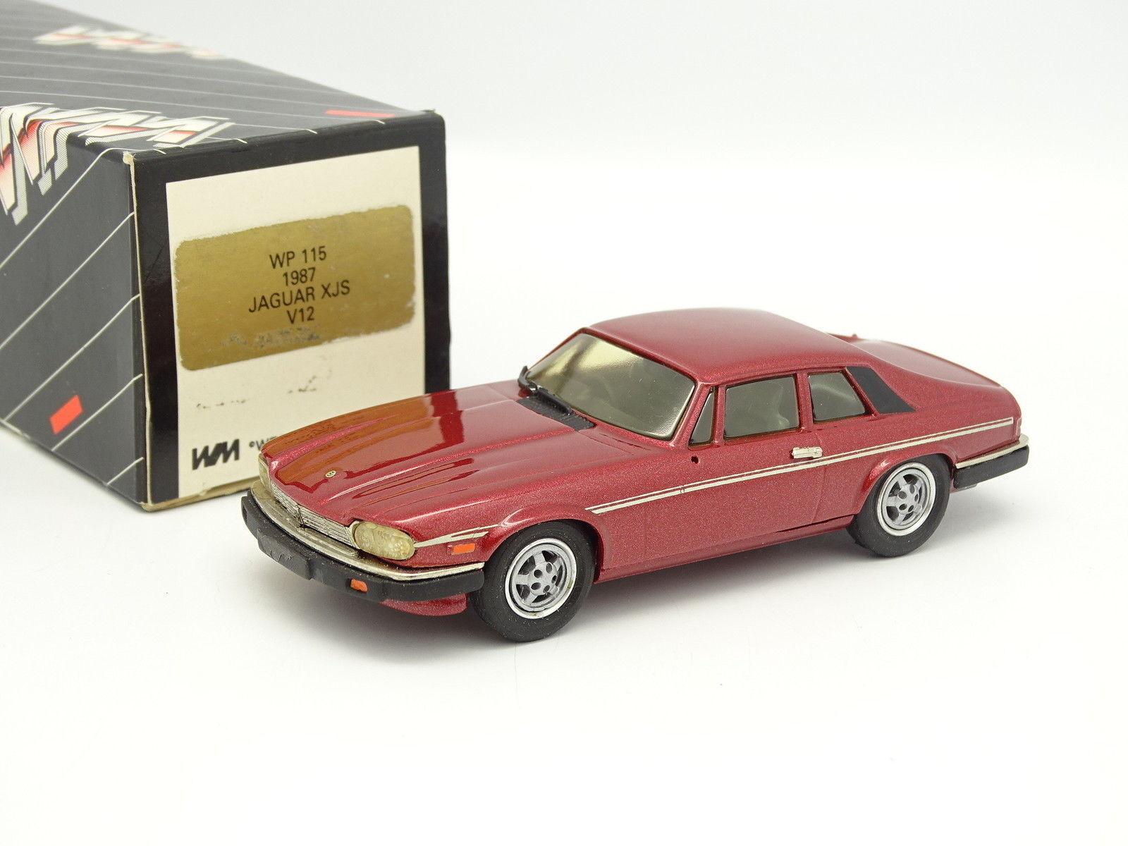 Oeste Modelos 1 43 - Jaguar XJS V12 1987 Rojo