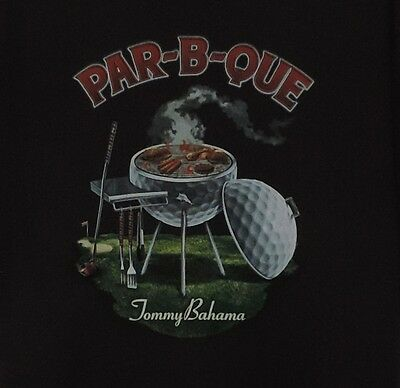 Tommy Bahama Men Graphic T-Shirt Size XL Par B Quee Tee Cotton White New