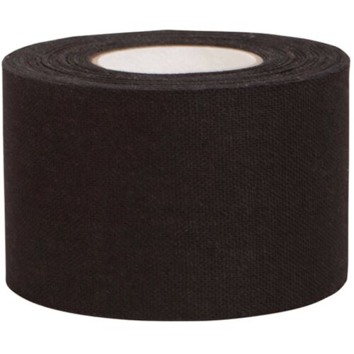 Aquarius Kinesiology Muscle Support Sports Physio Tape 5cm wide 1 x 5M, BLACK