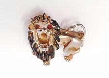 VINTAGE REJA Lion Brooch