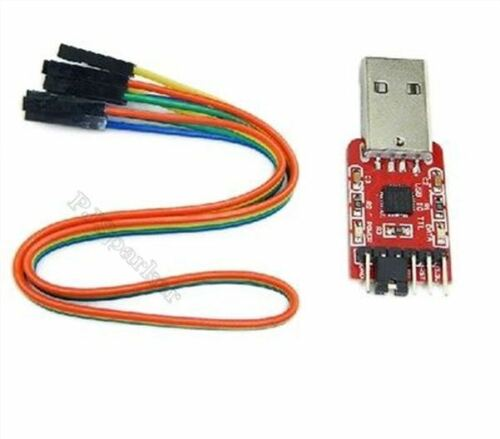 Usb To Ttl Com Buildin-In CP2102 Converter Module New Ic by