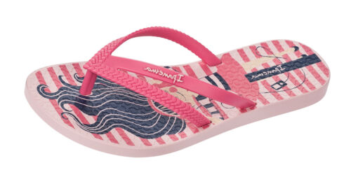 Ipanema Bossa Girls Beach Flip Flops Pool Holiday Sandals Pink