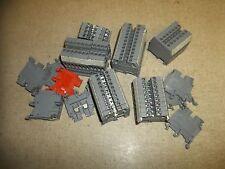 Entrelec M 4/6 5116 Terminal Blocks, Lot of 64 *FREE SHIPPING*