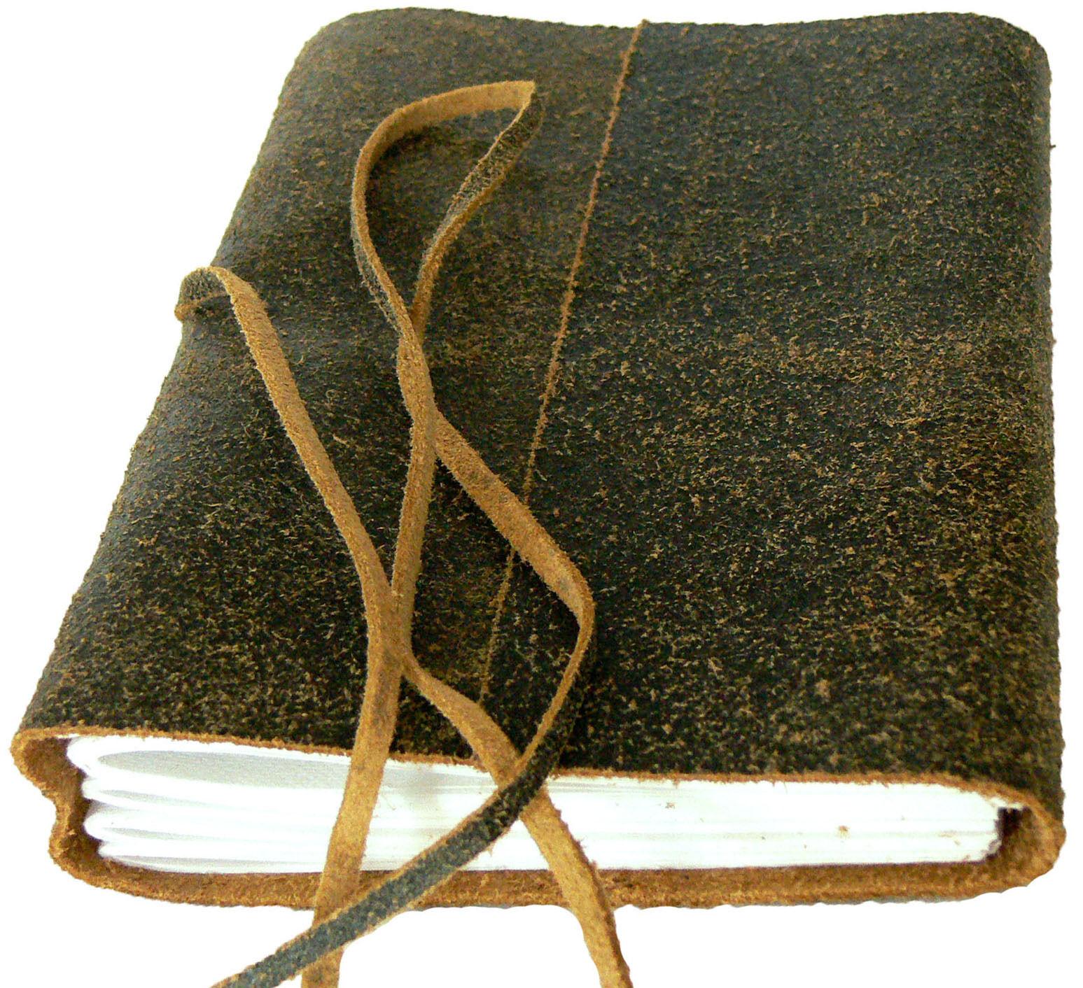 LUZERN Notizbuch Lederbuch Tagebuch Reisetagebuch Leder Kladde Geschenk schwarz | Moderne und elegante Mode  | Neuartiges Design