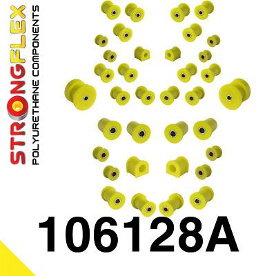 1 PU Buchse für Differentialaufhängung BMW 3er E36 Compact StrongFlex 90ShA gelb