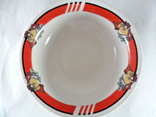 Gibson Looney Tunes Tazmanian Devil TAZ Cereal Bowl