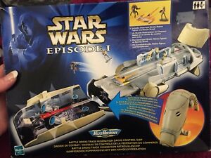 Star Wars Episode 1 Micro Machines Action Fleet Battle Droid Trade Federation O