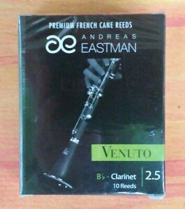 Eastman Venuto Bb Clarinet Reeds Box of 10 Strength 2.5