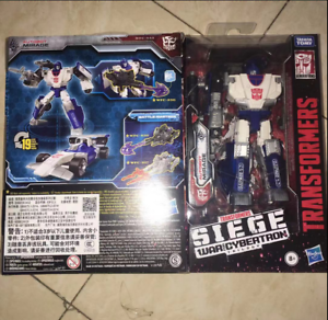 Siege Deluxe Mirage in stock MISB ! Transformers toys War For Cybertron
