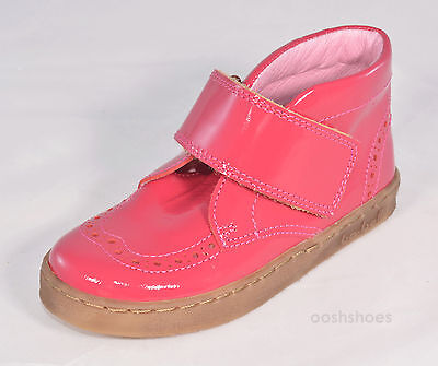 Bo-bell Girls Flipper Pink Leather Ankle Boots UK11 EU 29 US 11.5 RRP £48.00