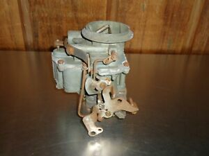 Rebuilt Stromberg WW 2-Barrel Carburetor 2b 15-40 1958 1959 Plymouth Mopar V-8