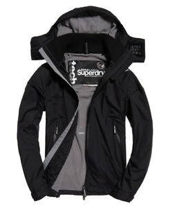 New-Mens-Superdry-Arctic-Hooded-Cliff-Hiker-Jacket-Black