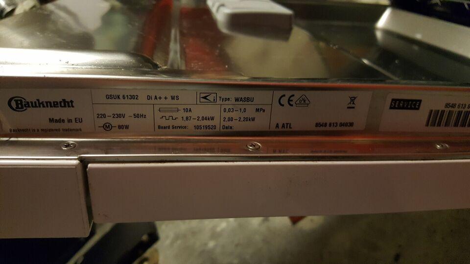 Bauknecht gsuk 61302 DI A++ WS, fritstående, energiklasse