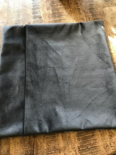 cushion cover cotton with grey velvet envelope back Harrods tartan