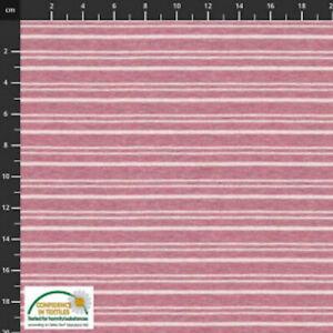 Stoff Avalana Jersey Melange Stripe and Plains - 160cm Wide