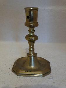 Nice brass candlestick 17th century, ca.1660