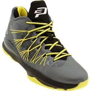 48490916cf6266 644805-070 Men s Jordan CP3 VII AE Grey Dark Grey White Black Yellow ...