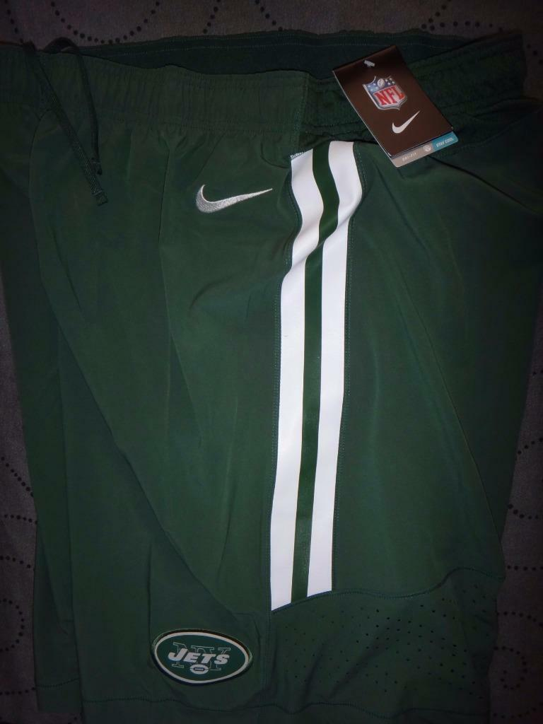NIKE NEW YORK JETS NFL FOOTBALL ON FIELD  SHORTS XL L MEN NWT  75.00