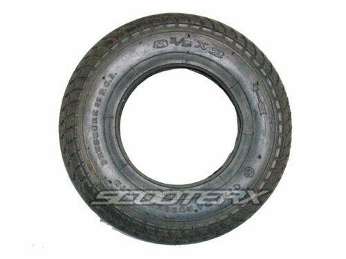 8.5x2 Replacement Street Tire for Go Karts Mini Bikes Gas Scooters Mobility Kart