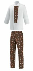 Jacket Sweets Completo Egochef Giacca Biancosweets Cuoco Pantalone E Chef Set wAAqUxYf