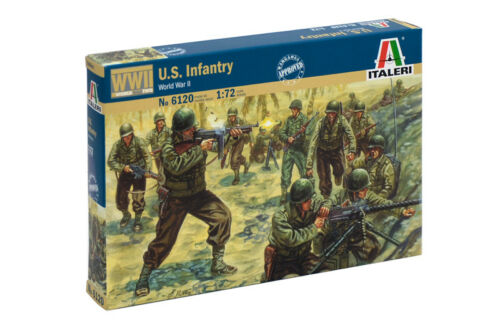 Army Infantry Italeri 6120-1//72 Figuren Set U.S Neu