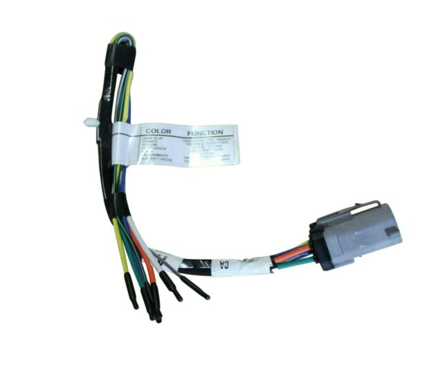 ford factory radio wiring 99e 250 ford oem trailer tow harness 2c3z13a576ca for sale online ebay  ford oem trailer tow harness