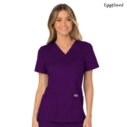 Cherokee Scrubs REVOLUTION Medical Uniform Modern Classic Fit V-Neck Top/_WW610