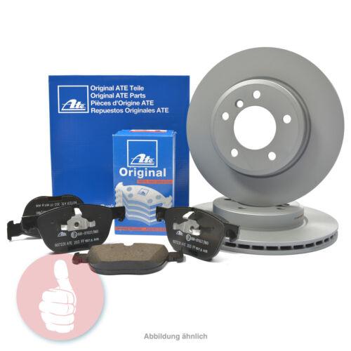 Original ATE Bremsscheiben 256mm Bremsbeläge für vorne VW AUDI SEAT SKODA