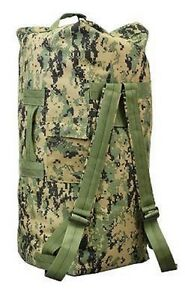 EE-UU-Woodland-Digital-Ejercito-Marines-Usmc-Militar-Bolsa-De-Lona-petate