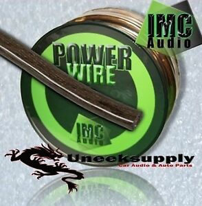 BLACK-4-Gauge-Power-Ground-Amplifier-Wire-10-feet-ft-4-AWG-Primary-Cable-Guage