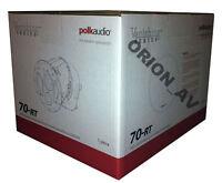 Polk Audio 70-rt In Ceiling 3-way Vanishing Speaker White 70rt Brand