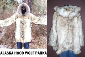 Image Is Loading 2500 Fab Real Genuine Fur Alaska Eskimo Coyote