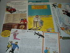 TINTIN PUBLICITE COLLECTION EDITIONS DU LOMBARD HERGE