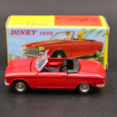 Peugeot 204 cabriolet red-ref 511-1//43 atlas dinky toys
