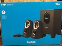 Logitech Z313 Computer Speakers 50w