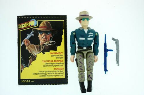 Various Choice Lanard the Corps Vintage action figures complete rare with cards