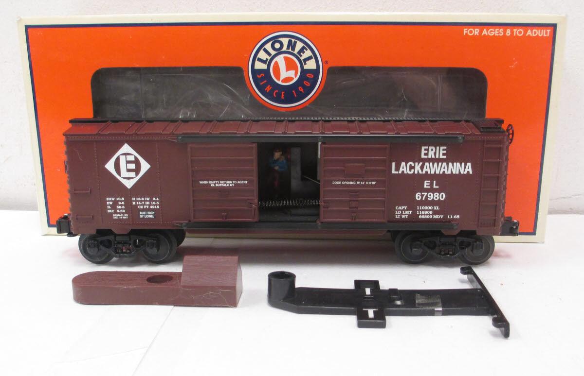 2002 Descatalogado Lionel 6-26787 Erie-Lackawanna Saltador Hobo Vagón Nuevo