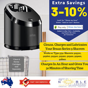 Braun-Shaver-Series-9-Clean-amp-Renew-Cleaning-System-Cleaner-and-Charging-Station