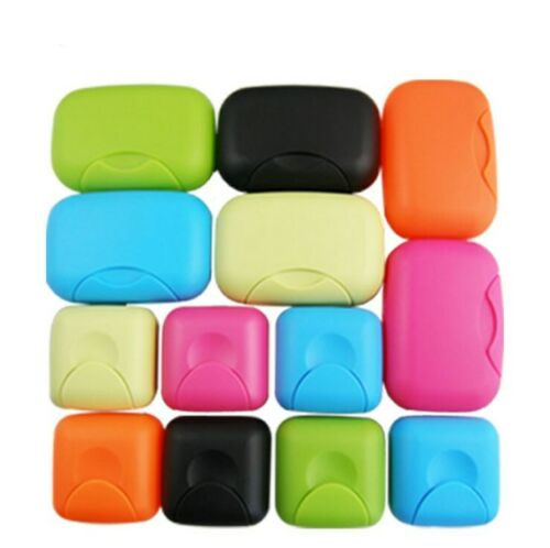 Mini Travel Soap Dish Plate Box Case Holder Container for Home Bathroom Shower