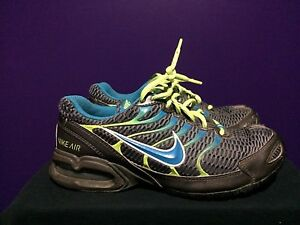Nike-Air-Max-Torch-4-IV-women-Shoes-6-5-Cross-Training-Sneakers-Gray-Blue-green