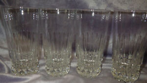 Crystal Highball glasses Barcelona by Cristal D' Arques of France 4 11 ounce