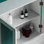 Priano-Bathroom-Mirror-Wall-Cabinet-Double-Doors-Mirrored-Cupboard-Wooden-White thumbnail 7