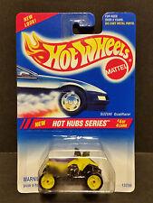 1994 Hot Wheels #311 - Hot Hub Series 4/4 : Suzuki Quadracer Yellow Rims - 13298