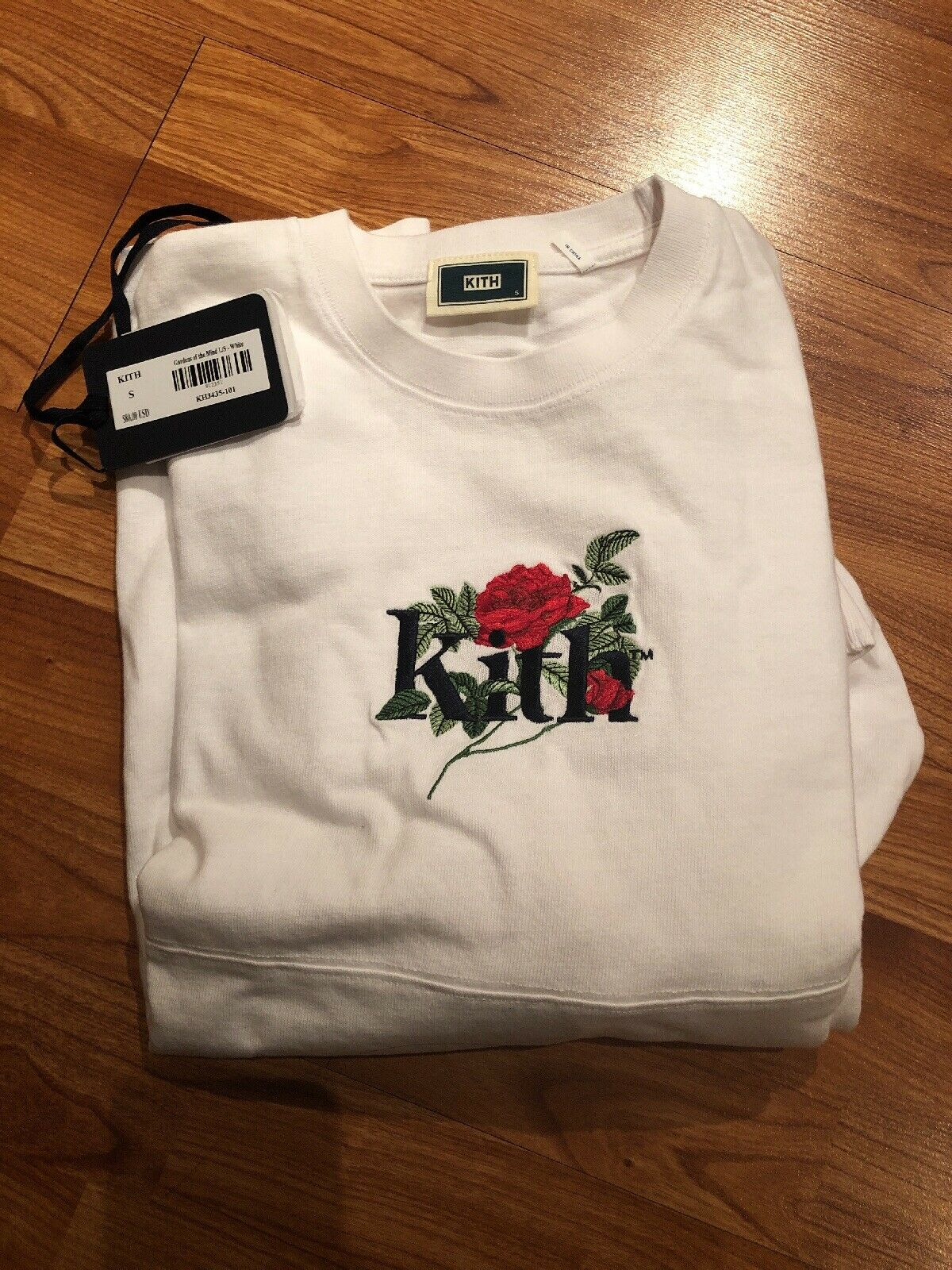 KITH GARDENS OF THE MIND L S TEE WHITE - Small